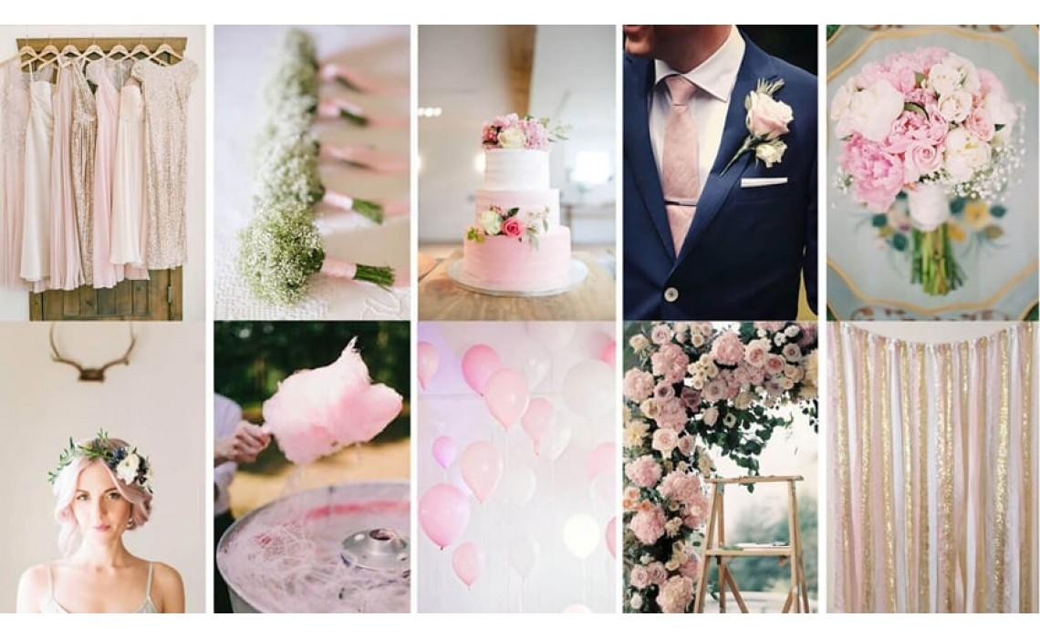 Το ροζ χρώμα στο γάμο