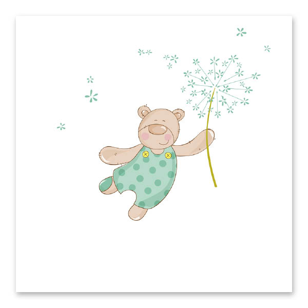 Χαρούμενο Πράσινο Αρκουδάκι