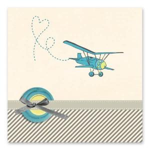 Ζωηρό Μπλε Αεροπλανάκι