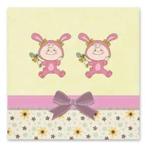 Χαριτωμένες Ροζ Λαγουδίνες
