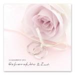 Μοντέρνο Ροζ Τριαντάφυλλο με Βέρες