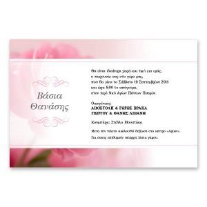 Ρομαντική Ροζ Παιώνια